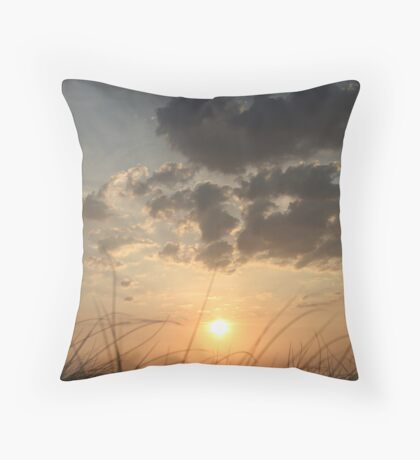 Evening Whispers Throw Pillow