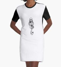 dark mark Graphic T-Shirt Dress