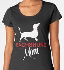 Dachshund Mom Women's Premium T-Shirt