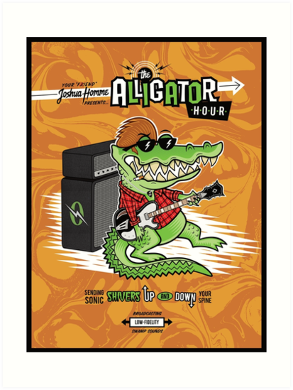 Joshua HommeGator presents: The Alligator Hour by mdnghtmssns