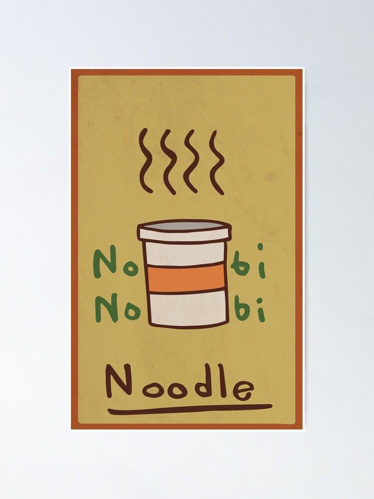 Alternate view of Nobi Noodle Poster