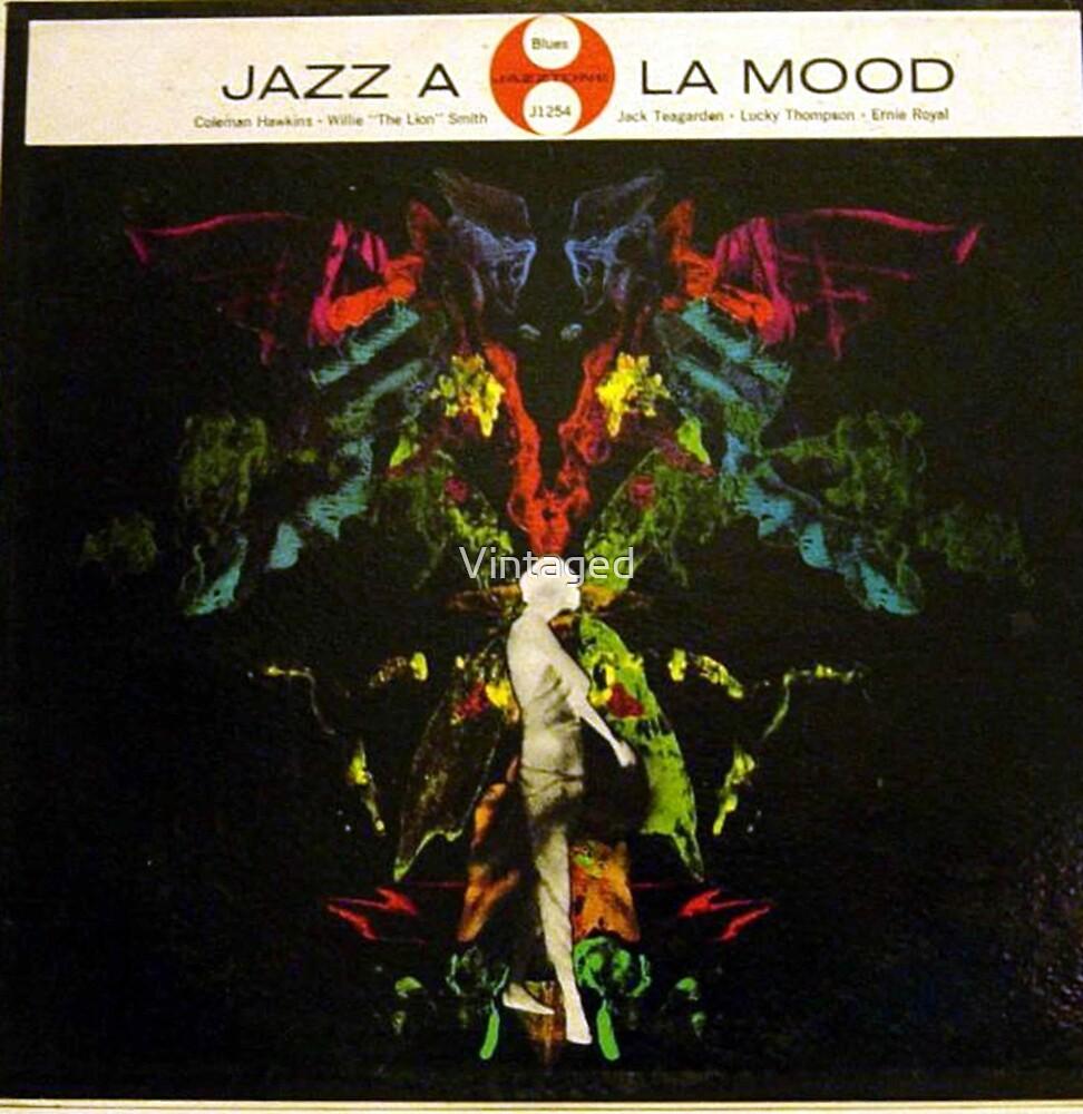 89f1c1568296 Jazz A La Mood, 1950's Psychedelic cover lp, Jazz, Trip, 50's ...