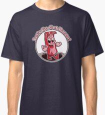 "Retro Bacon Design ""Let's Go Get Bacon!"" Classic T-Shirt"
