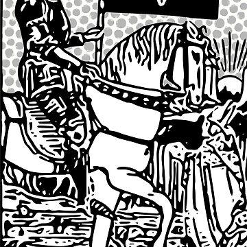 Modern Tarot Print - Death by annaleebeer