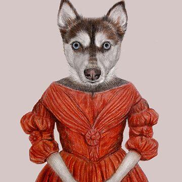 Mrs dog by windzao