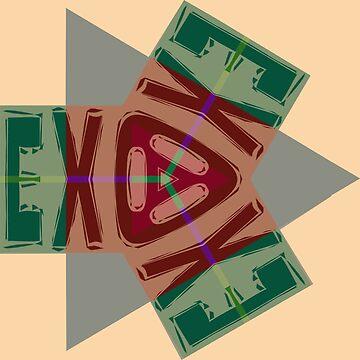 Exodus by painterfrank