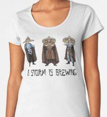 3 Stürme - Ein Sturm braut - Große Probleme in Little China 1986 Frauen Premium T-Shirts