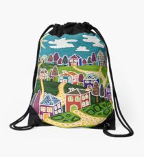 'Community' Drawstring Bag