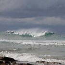 seascapes #228, storm coming by stickelsimages