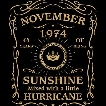 November 1974 Sunshine mixed Hurricane by lavatarnt