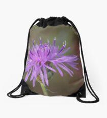 Spotted Knapweed Drawstring Bag
