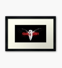 The Role Play Of Cicada Framed Print
