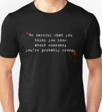 Dexter Series - You're Probably Wrong T-Shirt