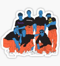 BROCKHAMPTON Sticker