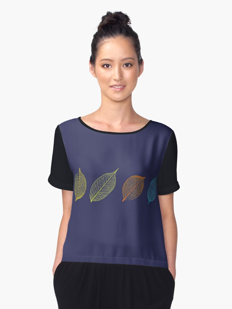 Four Leaves Women's Chiffon Top Front