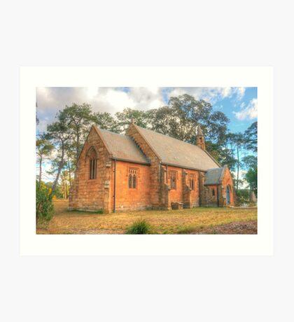 Berrima Holy Trinity Anglican Church Art Print