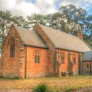 Berrima Holy Trinity Anglican Church by Michael Matthews