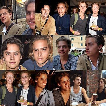 Cole & Dylan Sprouse Collage by prettylittledes