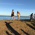 Dancing by the Beach by Hekla Hekla