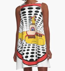 The Beatles, Yellow Submarine, Sea of Holes A-Line Dress