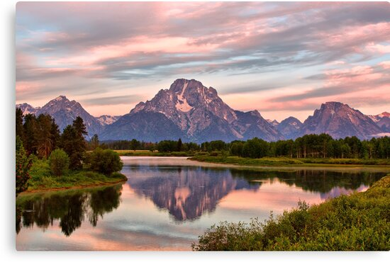 Mount Moran Reflection by Teresa Zieba
