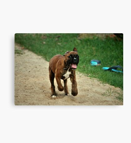 It Run Time Canvas Print