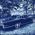 Buick Electra in Blue Electric by Fran Lafferty