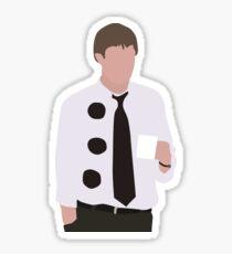 3 Hole Punch Jim Sticker