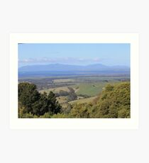 Wilsons Prom Lookout Art Print
