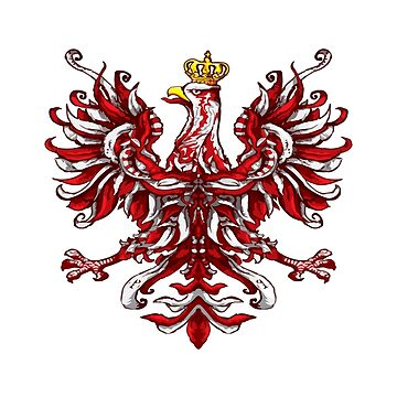 Polish Flag Eagle Poland by biggeek