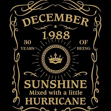 December 1988 Sunshine mixed Hurricane by lavatarnt