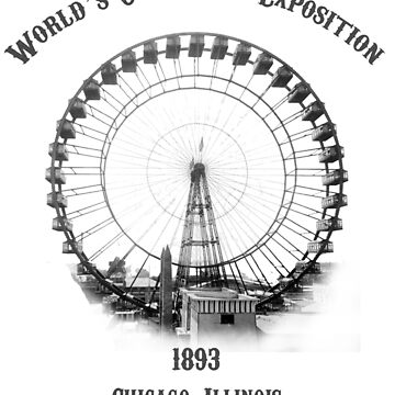 Chicago 1893 World's Columbian Exposition by shanghaijinks