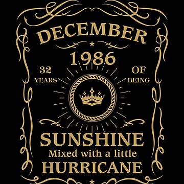 December 1986 Sunshine mixed Hurricane by lavatarnt