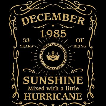 December 1985 Sunshine mixed Hurricane by lavatarnt