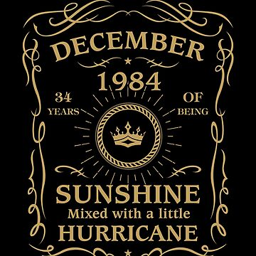 December 1984 Sunshine mixed Hurricane by lavatarnt