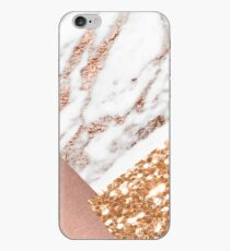 Layered rose gold iPhone Case