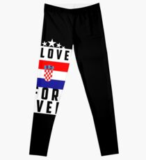 Croatia/Flag/Love Leggings