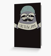 The Quiet Storm Greeting Card