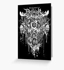 Dethklok Metalocalypse Shirt Greeting Card