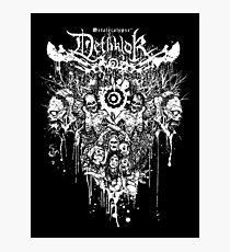 Dethklok Metalocalypse Shirt Photographic Print