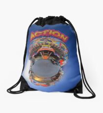 action Drawstring Bag