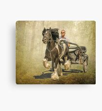 The Gypsy Trotter Canvas Print