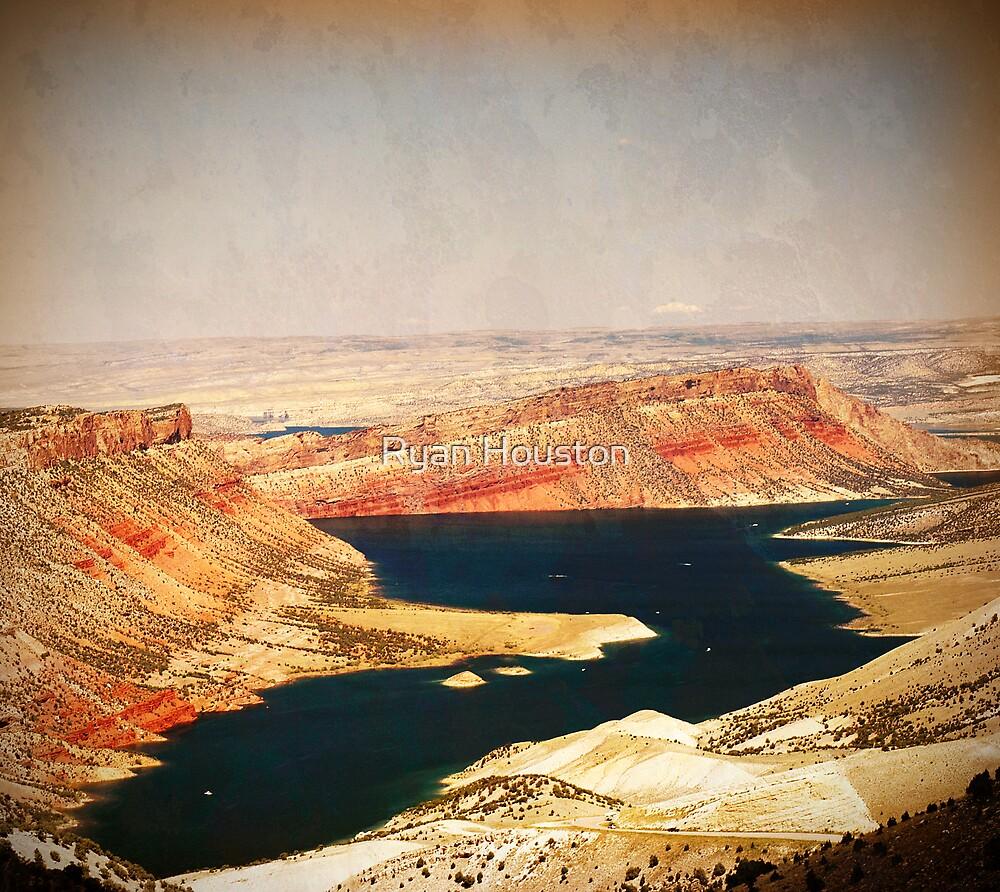 Sheep Creek Overlook - Flaming Gorge, Utah by Ryan Houston