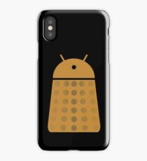 Droidarmy: Dalek - Dalek Gold Sticker iPhone Case