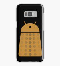 Droidarmy: Dalek - Dalek Gold Sticker Samsung Galaxy Case/Skin