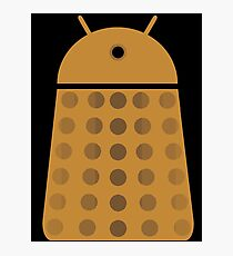 Droidarmy: Dalek - Dalek Gold Sticker Photographic Print