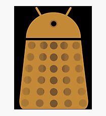 Droidarmy: Dalek - Dalek Gold Sticker Photographic Print