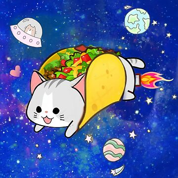 OuterSpaceTacocat by PlanetLucky