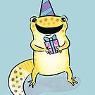 Leopard  Gecko Birthday by zoel