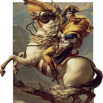 Bonaparte crossing the Great Saint Bernard by opngoo